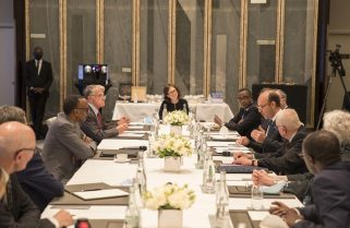Reconciling History: President Kagame Meets Former French Military Officers, Duclert Commission Members