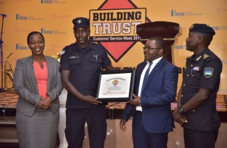 Junior Traffic Officer Raises Through The Ranks Due to Exemplary Service