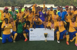 AS Kigali retains Women Football League title