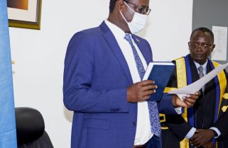 Prof. Nshuti Manasseh Sworn-in By Regional Assembly