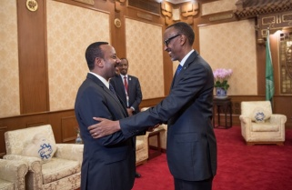 Kagame Congratulates Ethiopia PM on Winning Nobel Peace Prize