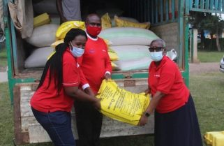 Victims of Nyiragongo Eruption Get Relief Support