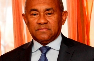 CAF President Ahmad Joins Rwandans in Genocide Commemoration