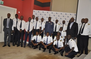 Rwanda's 1st Intake of Fixed-wing Aircraft Course for February