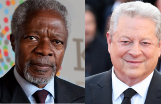Al Gore, Annan and Five Heads of State for AGRF Kigali