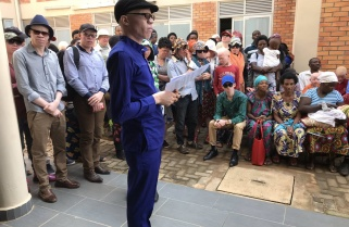 Rwanda Military Hospital Provides Free Medication to People With Albinism