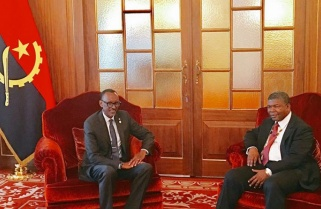 Kagame In Angola for Talks with President Lourenço