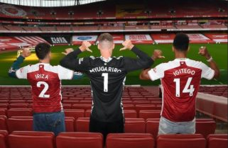 Arsenal's Aubameyang, Hector and Bernd Name Baby Gorillas at Kwita Izina