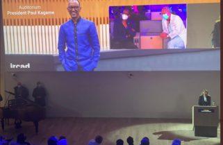 "Kagame Inaugurates ""President Paul Kagame Auditorium"" In France"