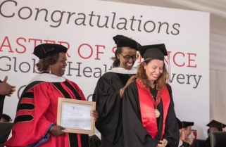 46 Students Graduate at University of Global Health Equity