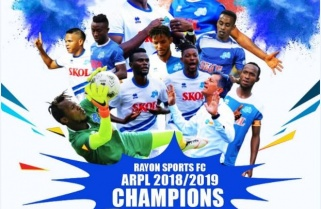 Rayon Sports are Rwanda League Champions