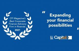 BK Capital Named Best Corporate Finance Advisory Firm in Rwanda