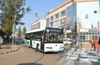 Chinese Company Expresses Interest in Kigali's Special Bus Highway Project