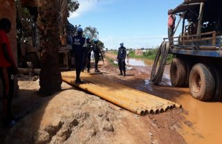 Rwandan Police Peacekeepers Develop A Project to Address Clean Water Shortage in Bangui