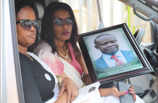 Family and Friends Pay Last Respects to Late Louis Baziga