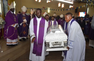 Bishop Bimenyimana Laid to Rest