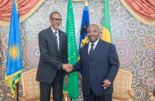 Kagame Rejoices Recovery of Gabon President Ondimba