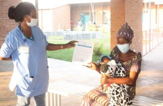 Mother Who Delivered in COVID-19 Treatment Centre Discharged