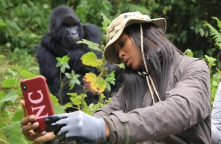 ICYMI: A Selfie with Mountain Gorilla