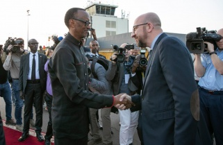 Kagame is Receiving Heads of State, Government Coming for Kwibuka25