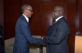 Kagame Hails Tshisekedi On Win Against Armed Groups