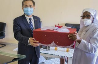 Chinese Embassy, FAWE Girls' School Strengthen Ties