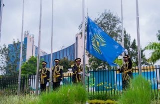 Rwanda Hoists Flag for Commonwealth Day