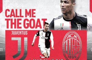 Featured: On StarTimes; No Ronaldo Ibrahimovic Showdown in Coppa Italia