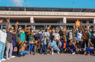 Youth Entrepreneurs from Rwanda Arrive In Ghana for Business Expedition