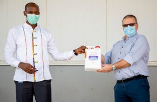 Rwanda Recommends Use of Face Mask