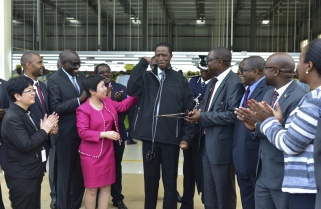 Made in Rwanda Jacket Excites Zambian President