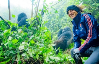 The Gorilla Family that Will Bring Arsenal's David Luiz Back to Rwanda