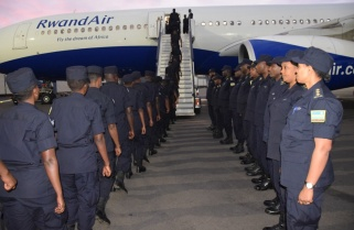 Rwanda National Police Complete Rotation of Peacekeepers to South Sudan