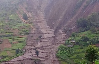 Landslide Leaves Trail of Death, Destruction In Western Rwanda