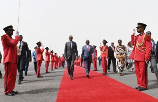Kagame in Djibouti for Inauguration of Int'l Free Trade Zone