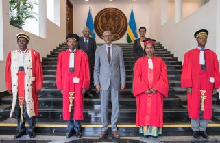 Earn the Trust of Citizens-President Kagame to Newly Sworn-In Judges