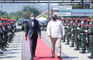 Rwanda-DRC Relations: Kagame, Tshisekedi Meet in Goma After Assessing Nyiragongo Impact
