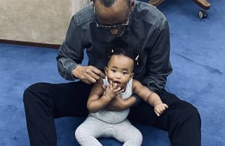 Happy Father's Day: First Daughter Ange Kagame Shares Rare Photo of President Kagame With Granddaughter