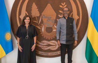 Mayor of Paris Pays Courtesy Call on President Kagame