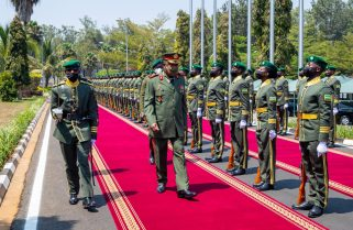 Angolan Armed Forces Chief of General Staff  in Rwanda