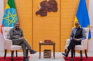 PHOTOS: President Kagame Meets PM Abiy