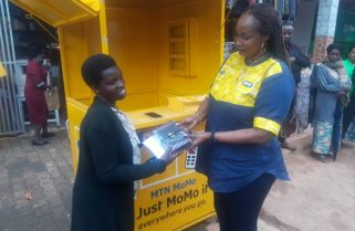 Assaulted and Robbed Airtime Vendor Gets MTN Support