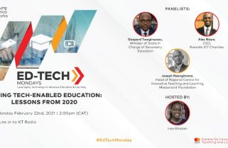 Live On KT Radio: MasterCard Foundation Launches a Monthly  EdTech Program