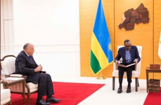 President Abdel Fattah Sends A Message to President Paul Kagame