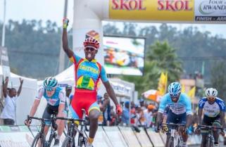 Tour du Rwanda (2.1): Biniam Beats Areruya to Win Stage Five