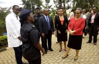 Humanity Expressed at Isange One Stop Centre – Ethiopian First Lady