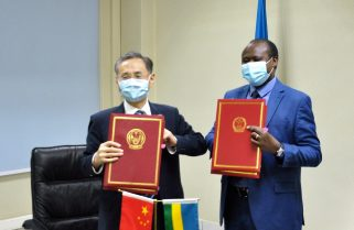 China-Rwanda Sign US$ 60 Million Grant and US$ 6 Million debt Exemption