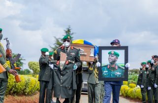 """""""He Worked Tirelessly & Selflessly"""" -President Kagame Pays Tribute to Gen. Musemakweli"""