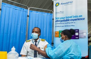 RwandAir Becomes First African Airline to Vaccinate All Staff Against COVID-19