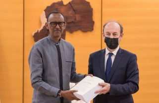 President Kagame Receives Duclert Report